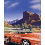 "SOLD! ""Sedona Vette,"" My first-ever Sedona painting... Collection of Mr. Robert Jartz, Madison WI."