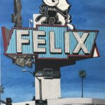 Felix the Cat Painting