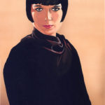 Louise Brooks Painting